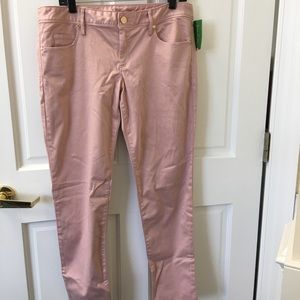 Lilly Pulitzer NWT Worth Skinny Pant SZ 12 in Rosé